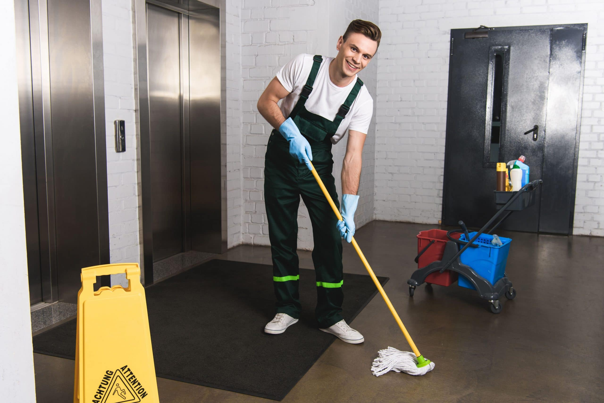 Atom Cleaners COMMERCIAL CLEANING